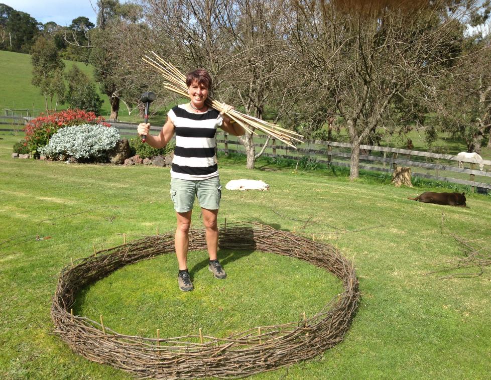 creating a veggie garden at Wiggley Bottom Farm - your country retreat