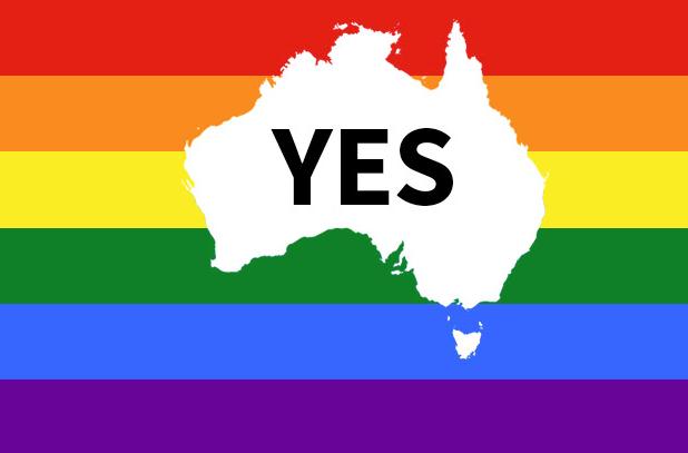 Australia voted yes.