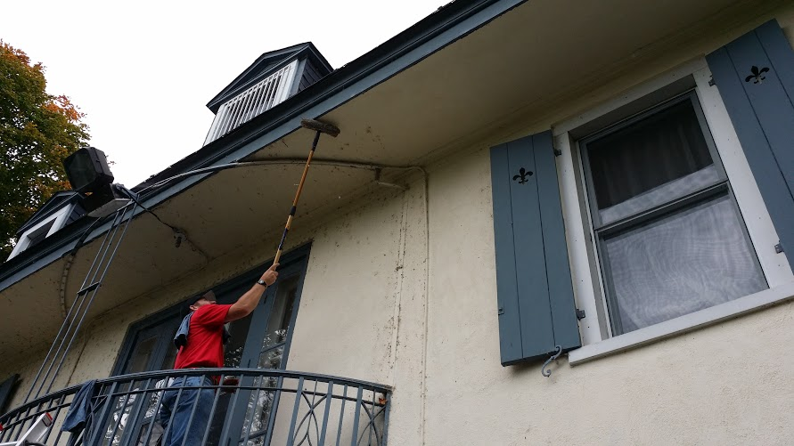 We clean all types of siding