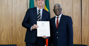 Ambassador Yalew Abate presents Credentials to the President of Brazil