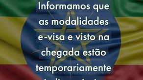 Informamos que as modalidades e-visa e visto na chegada estão temporariamente indisponíveis.