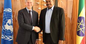 "Jean-Pierre Lacroix: We like to see more Ethiopians under the ""Blue Helmet"""