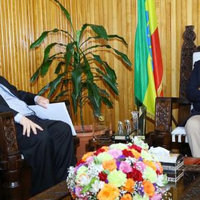 Etiópia e Uruguai Buscam Fomento nas Relações