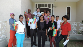 The Ethiopia National flag day celebrated colorfully