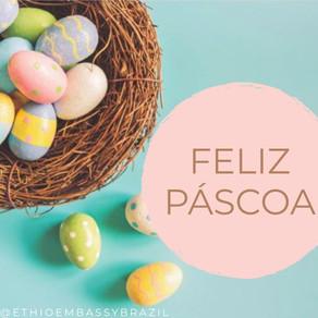 A Embaixada da Etiópia deseja a todos uma Feliz Páscoa!