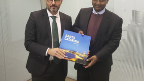 The Ethiopian Embassy and the Government of Santa Catarina are seeking greater integration