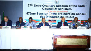 Foreign Minister Gedu Chairs the 67th Extraordinary Session of the IGAD Council