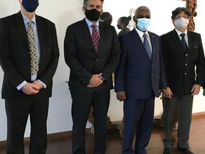 S.E o Embaixador Yalew Abate Reta encontrou-se com o Sr. Paulo Pan CEO e Fundador da HCA