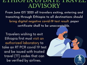 Update on Ethiopia's exit and entry requirements