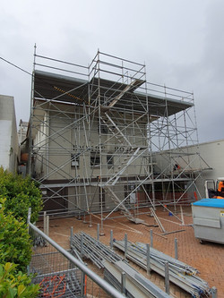Scaffold Access and Loading Bay