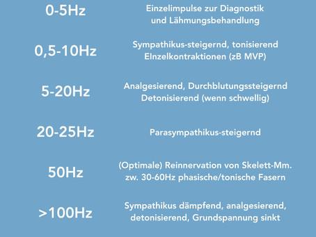 Cheat Sheet: Frequenzbereiche (ET)