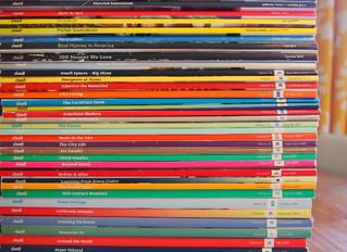 Des piles de magazines partout (mon top 8 des revues de design)