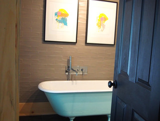 La salle de bain et la salle d'eau