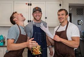 Quokka team in the kitchen