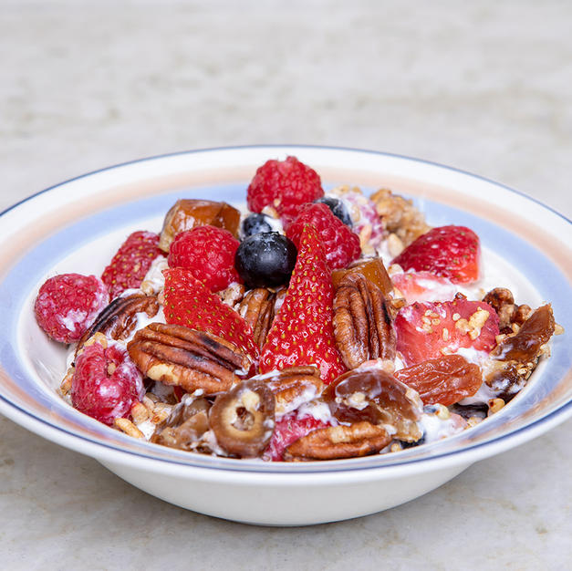 Fruit & Protein Parfait