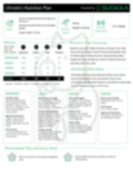Quokka Nutrition Plan - Christie image.p
