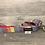 Thumbnail: Harris Tweed Wide Boy Rainbow Dog Collar