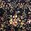 Thumbnail: Navy Floral Dog Collar