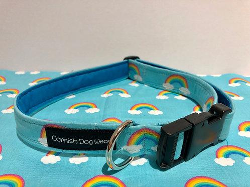 Gay pride dog Collar