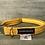 Thumbnail: Harris Tweed Mustard Herringbone Dog Collar