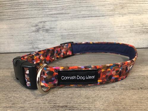 Liberty Dark Splodge Dog Collar