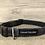 Thumbnail: Black and Grey Tartan Dog Collar