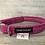 Thumbnail: Harris Tweed Hot Pink Herringbone Dog Collar