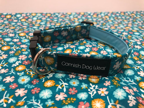 Turquoise Multi Flower Collar