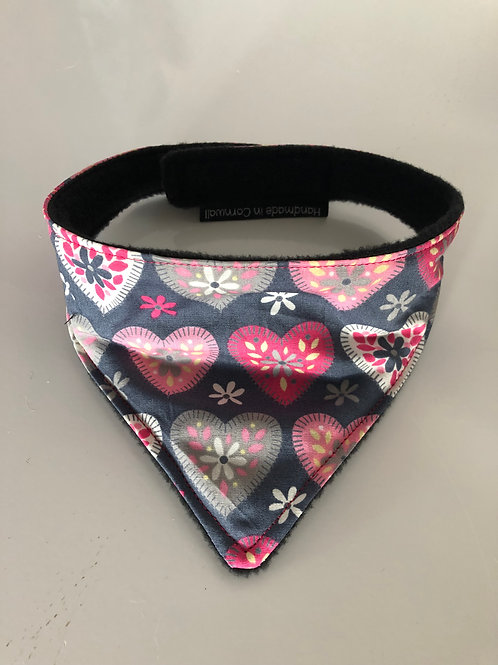 Patchwork dog bandana