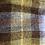 Thumbnail: Harris Tweed Orange and Blue Check Dog Collar