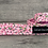 Thumbnail: Pink Blooms dog collar