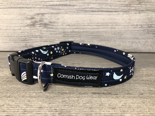 In the Sky at Night Dog Collar