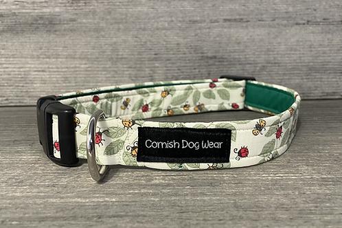 Lots of Ladybirds Dog Collar