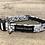 Thumbnail: Nautical Grey Fish Dog Collar