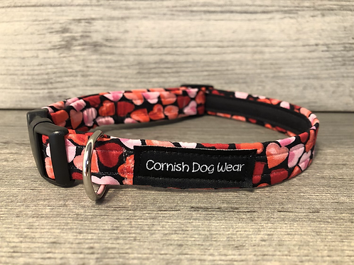 Love Hearts Dog Collar