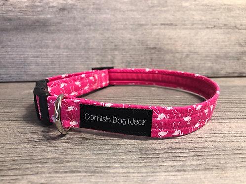 Flamingo Dog Collar