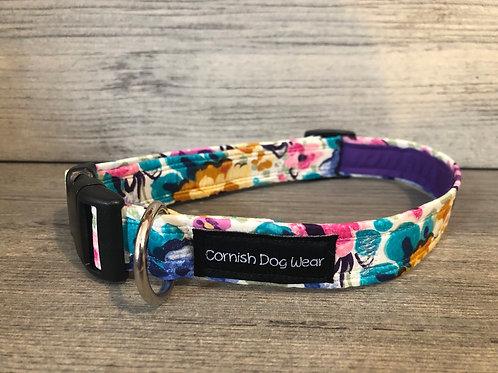 Liberty Water colour Dog Collar