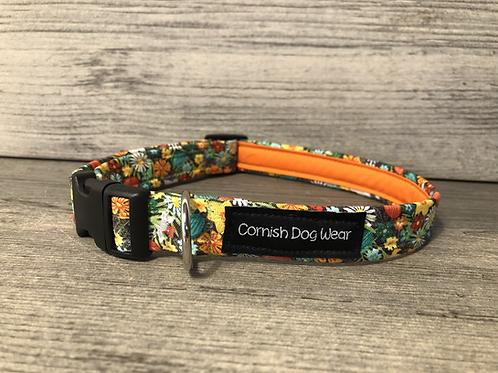 Spring Flowers Dog Collar