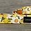 Thumbnail: Oddles of Daffodils dog collar