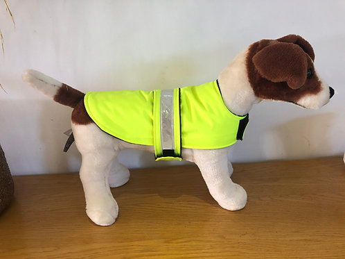 Hi Viz waterproof Dog Coat