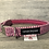 Thumbnail: Harris Tweed Raspberry Herringbone Dog Collar