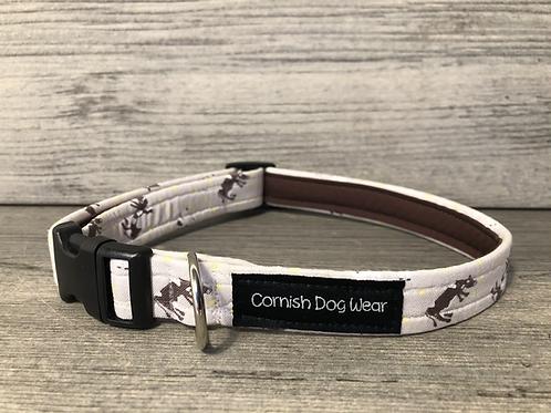 Cow Print Dog Collar