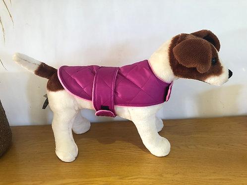 Pink Padded Shower Proof Dog Coat