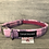 Thumbnail: Harris Tweed Winter Pink Check  Dog Collar