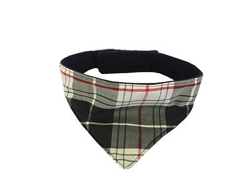 St Piran Cornish Tartan Dog bandana