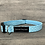 Thumbnail: Turquoise and White spot dog collar