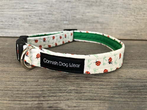 Ladybird Dog Collar