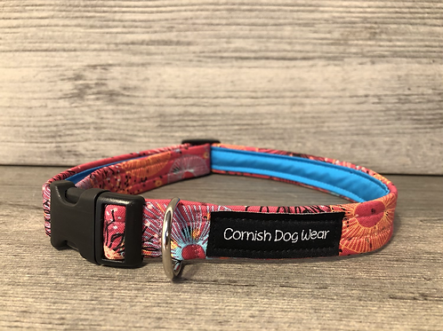 The Coral Reef Dog Collar