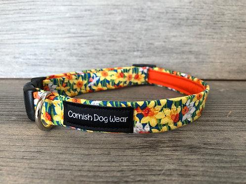 Daffodils Dog Collar