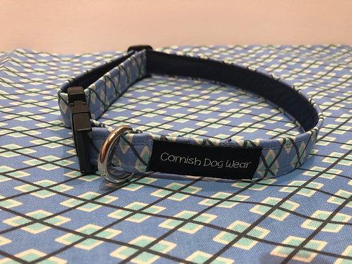 Blue Cross Dog Collar